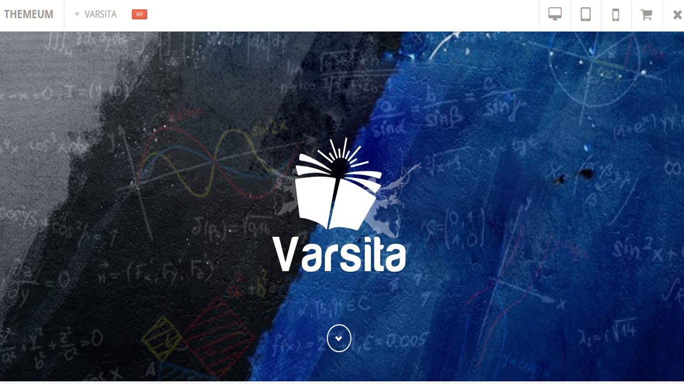 Learning Management System VarsitaTheme
