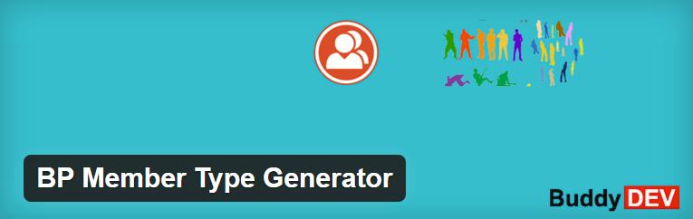 Generator plugin for BuddyPress
