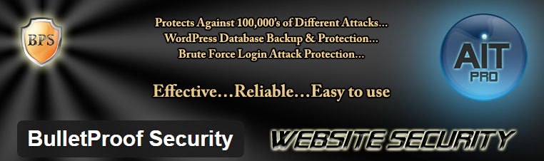 BulletProof Security : Security plugin