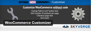 Customizer : WooCommerce plugin