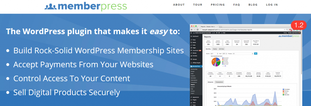MemberPress : Free Membership plugin