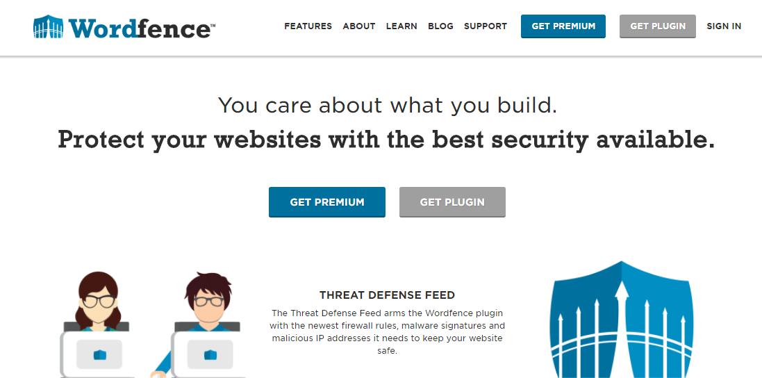 WordFence : Security plugin