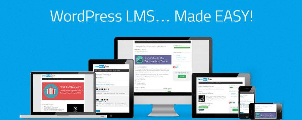WordPress LMS Plugin