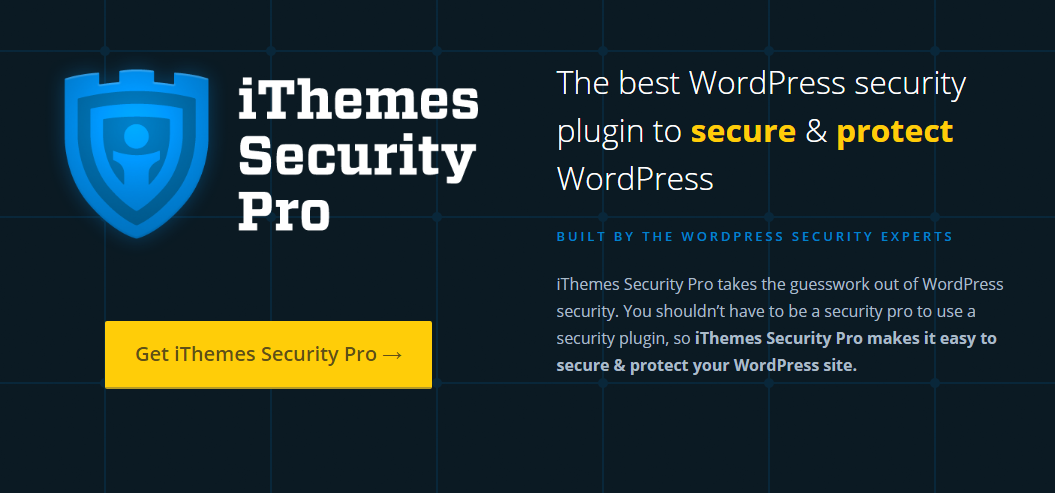iThemes : Security plugin
