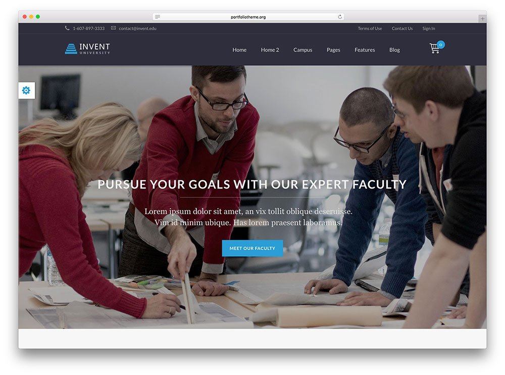 create elearning website
