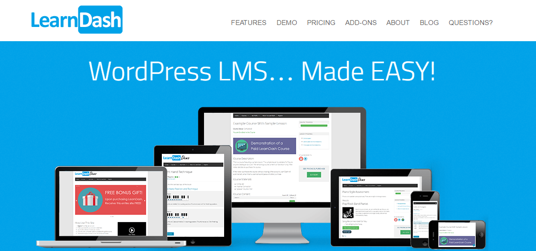 LMS WordPress Plugin
