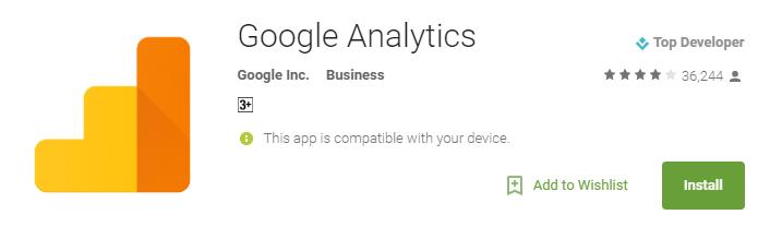 google-analytics-app : WordPress tool