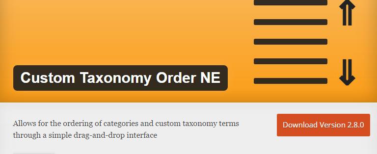 customtaxonaomy