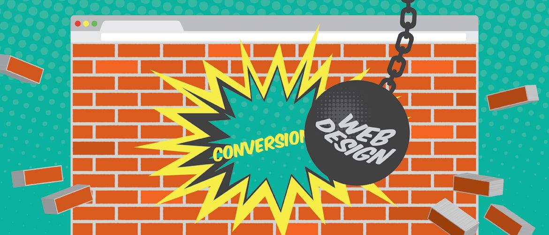 web design blunders wreck conversions