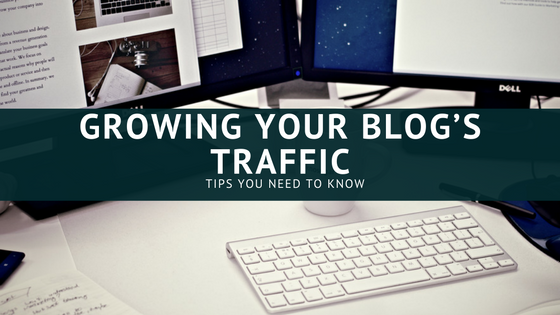 Tricks for growing your Blog's Traffic