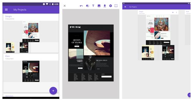 adobe-comp-cc: mobile app