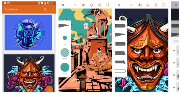 adobe-illustrator-draw: mobile app