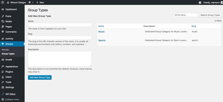 BP Create Group Type screenshot-3