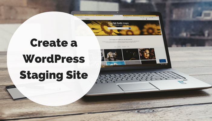 Create a WordPress Staging Site