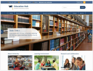 Education Hub: educational institutions