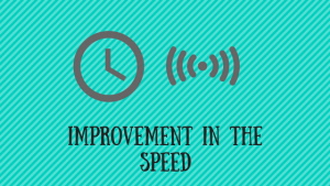 improvement-in-the-speed: conversion rate