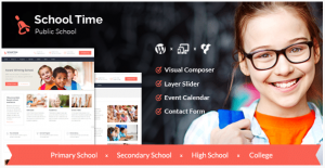 School Time - Modern Education institutions Theme