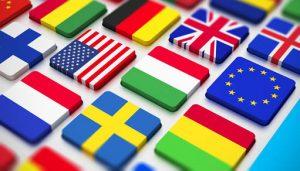 WordPress multilingual website