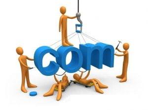 dot com for domain name