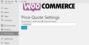 Woo Price Quotes Plugin