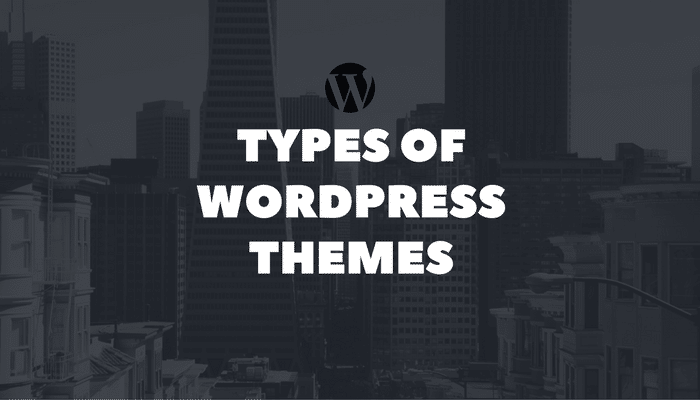types of WordPress themes