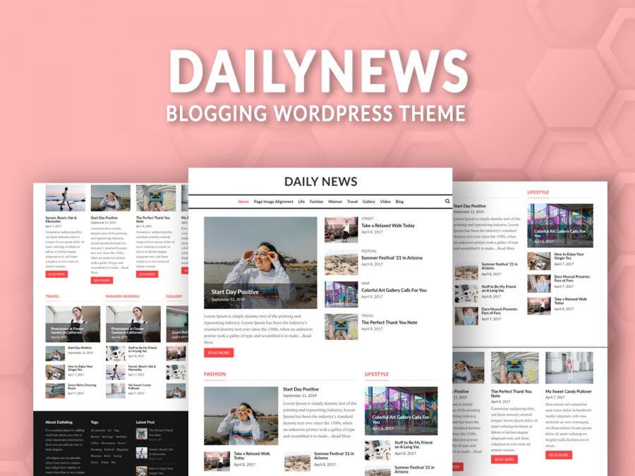 DailyNews Blogging Theme