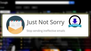 Just Not Sorry Gmail Plugin