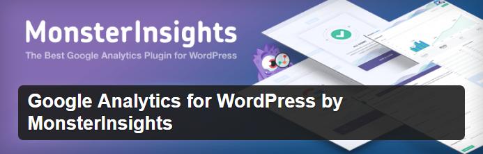 Google Analytics for WordPress for website traffic