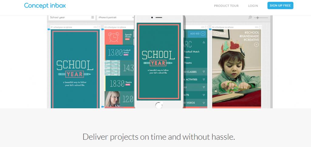 Concept Inbox, Web Designers tool