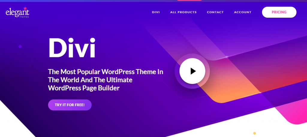 Divi, fully responsive WordPress themes