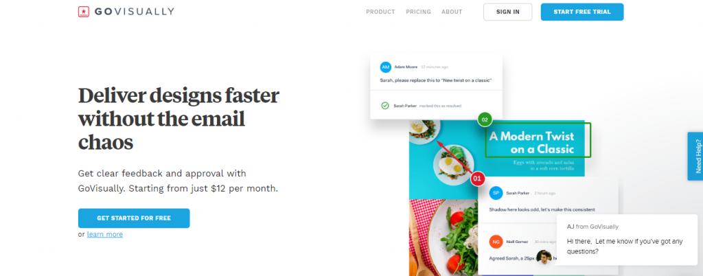 Go Visually, Web Designers tool