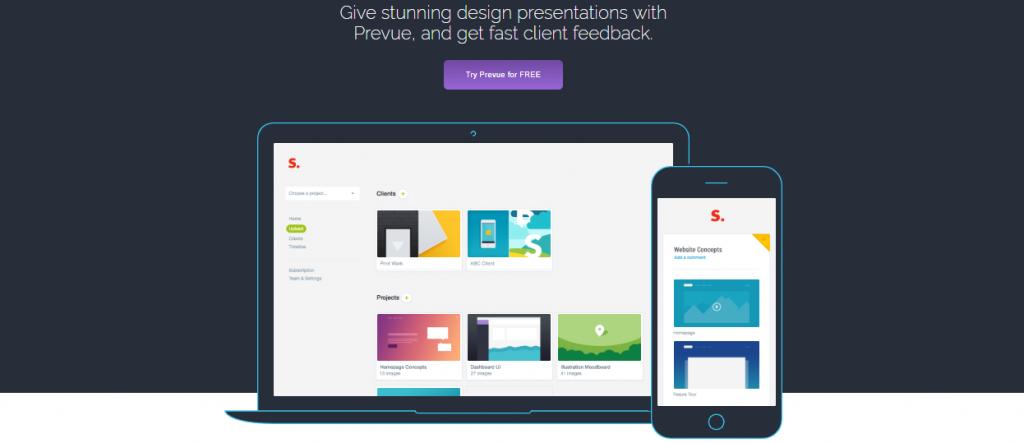 Prevue, Web Designers tool