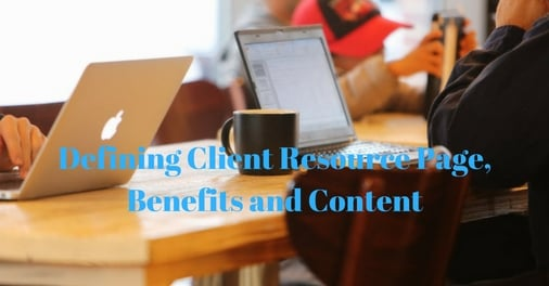 Client Resource Page is offers valuable knowledge to enhance the skills of the user.
