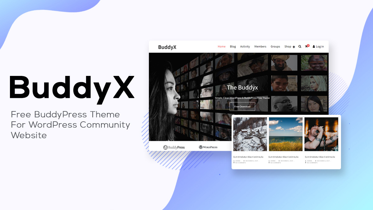 BuddyX Theme