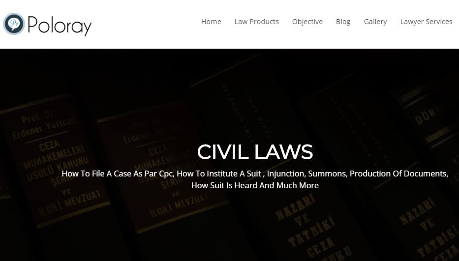 Poloray Attorney WordPress Template