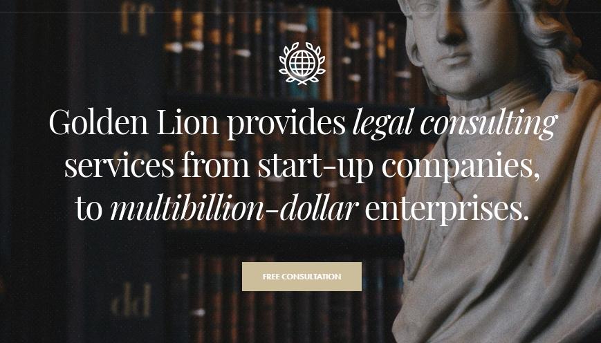 Revolution Law Firm WordPress Theme