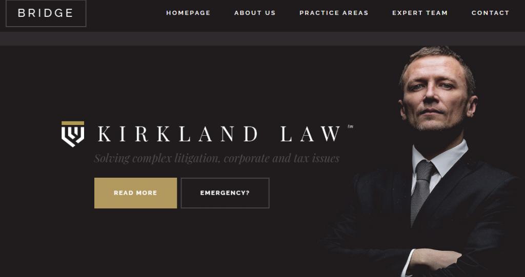 Best WordPress Lawyer Theme
