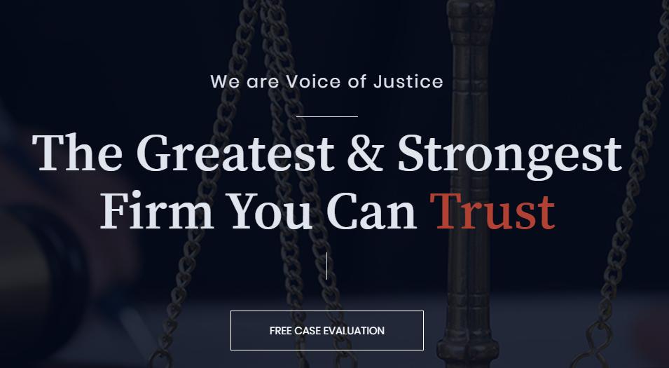 Lawgrid Law Firm WordPress Theme