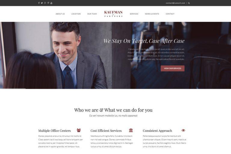 Lawyer & Attorney WordPress Theme