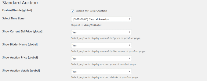 Marketplace -Auction -Plugin