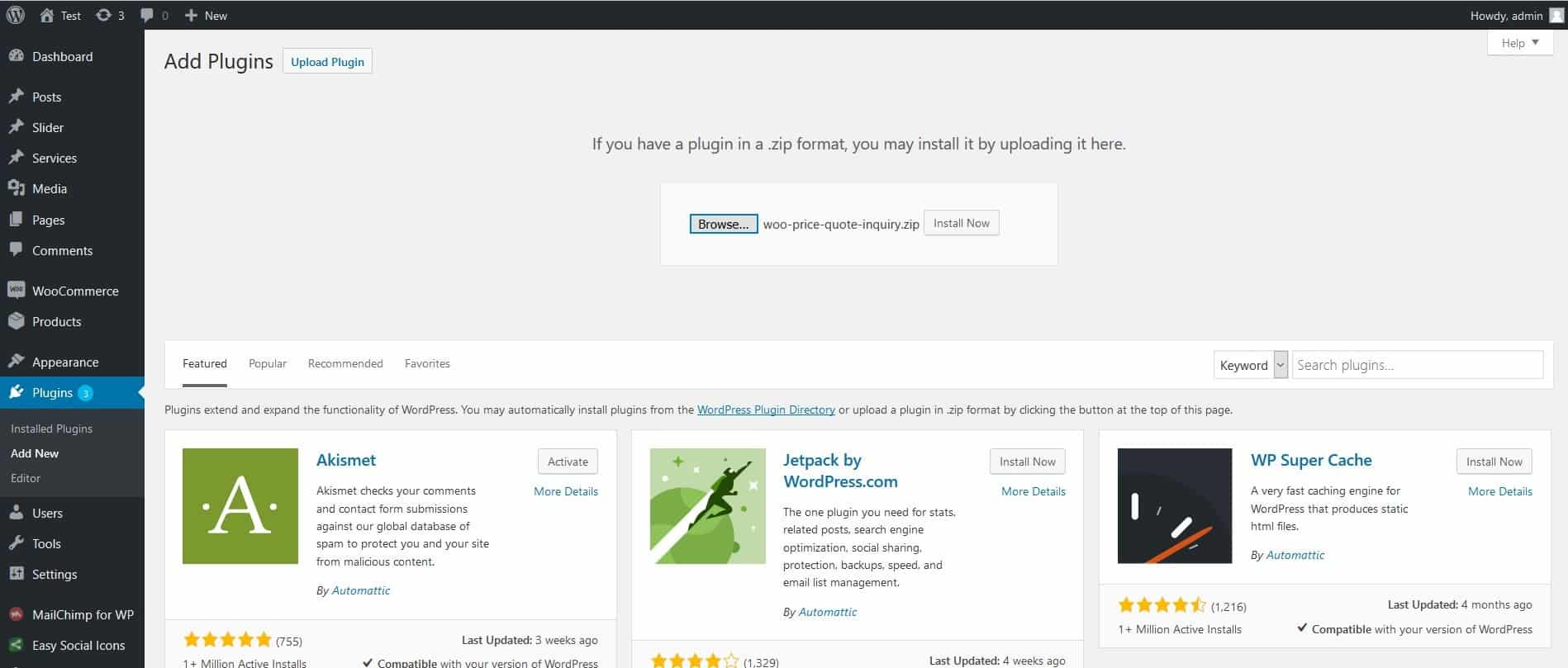 Woo Price Quotes for WooCommerce