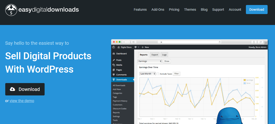 5 Best WordPress Plugins for Digital Product Store Development :