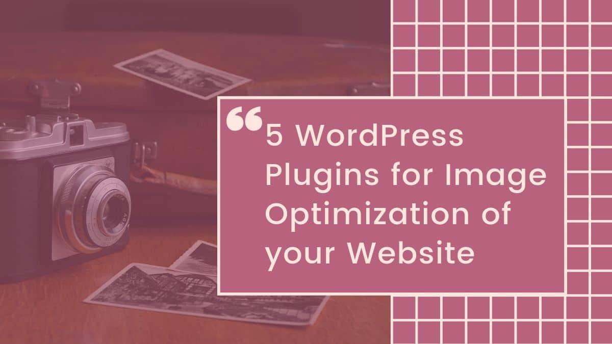 image optimzation, wordpress image optimization plugins