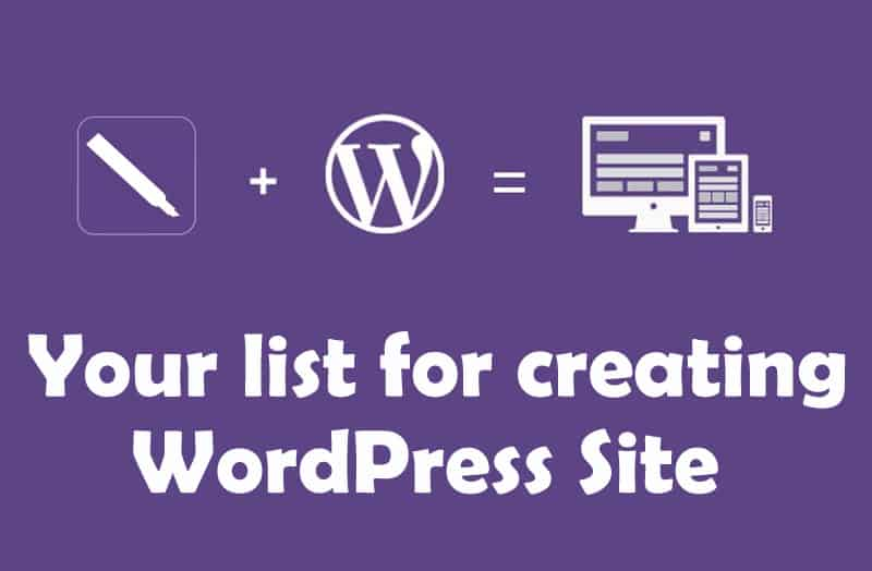 wordpress site list 1