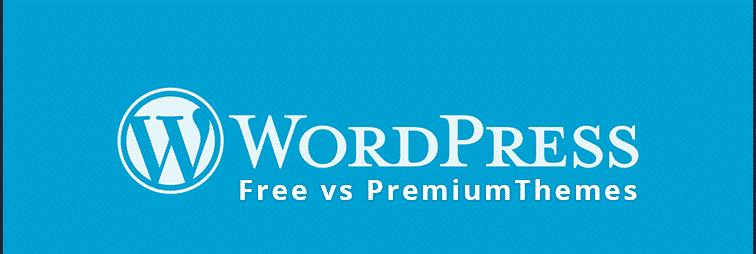 best premium WordPress theme vs free