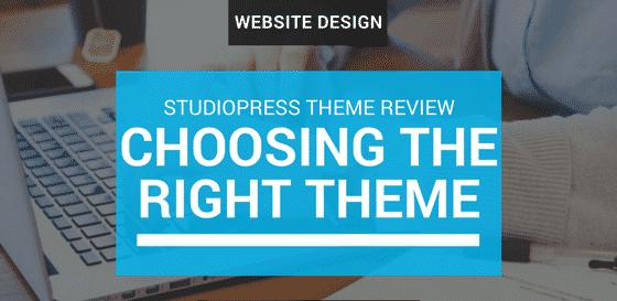 Best premium WordPress theme - studio press
