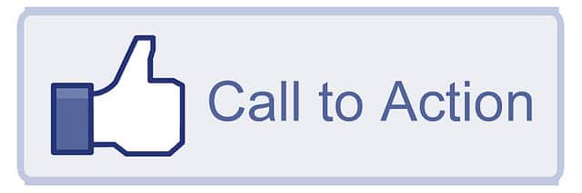 Increase Facebook engagement - call to action