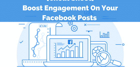 Increase Facebook engagement - Boost post