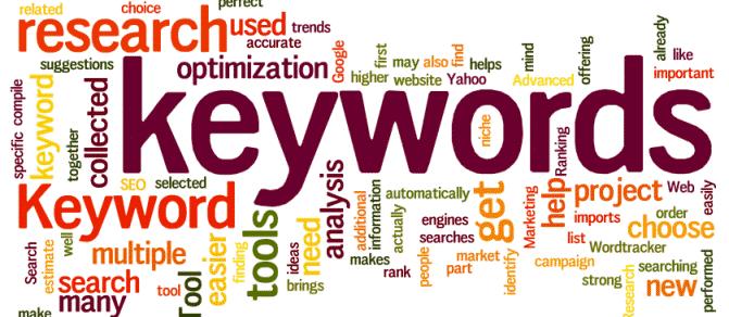 killer SEO content keywords