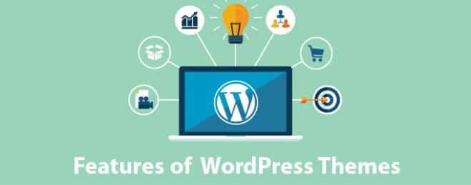 features of wordpress themes